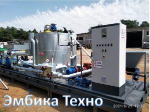 Установка модификации битума Эмбика М